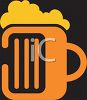 Foamy Mug of Beer Icon clipart