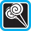 Spiral Lollipops Icon clipart