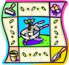 Gardening Design for Spring clipart