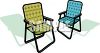A Couple Of Lawn Chairs clipart