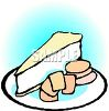 Brie Cheese and Crackers clipart