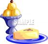 Ice Cream and Cheesecake clipart