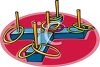 Carnival Ring Toss Game clipart