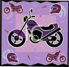 Transportation Icon Design-Motorbike clipart