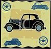 Transportation Icon Design-Luxury Car clipart