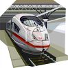 Realistic Style Monorail Car at the Station clipart