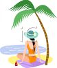 tropical vacation image