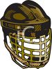 Goalie Mask and Throat Guard clipart