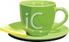 3D Cup of Tea with Lemon clipart