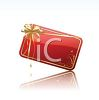 Gift Card for Christmas clipart