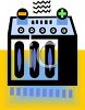 Car Battery Icon clipart