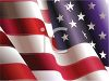 Patriotic Background of a Realistic American Flag clipart