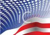 Patriotic Flag Background of Stars and Stripes clipart