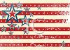 Grunge American Flag Background for the 4th of July clipart