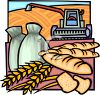 Wheat Industry Symbols clipart