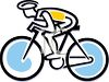 Bicycle Logo Element clipart