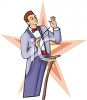 Band Conductor clipart