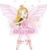 Faerie Princess with Her Arms Outspread for a Hug clipart