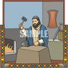 Ancient Times Blacksmith clipart