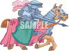 Jousting Knight clipart