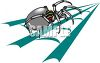 Mechanical Spider clipart