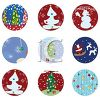 Variety of Christmas Tags or Icons clipart