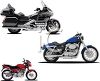 Realistic Motorcycle Collection clipart