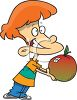 Teacher's Pet Bringing an Apple to the Teacher clipart