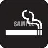 Lit Cigarette on a Black Background clipart