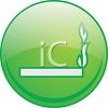 Glossy Smoking Permitted Icon clipart