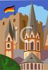Travel Ad German Castles clipart