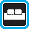Furniture Icon of a Couch clipart