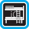 Bunk Bed Icon clipart