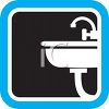 Bathroom Sink Icon clipart