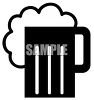 Mug of Foamy Beer Icon clipart