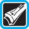 Nail Clippers Icon for Grooming clipart
