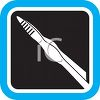Tweezers Icon for Grooming clipart