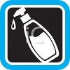 Hand Lotion in a Pump Dispenser Icon clipart