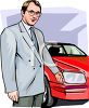 Car Salesman clipart