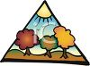 Autumn Trees Changing Color clipart