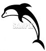 Black and White Orca clipart
