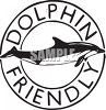 Dolphin Friendly Symbol clipart