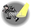 Prisoner Escaping from Jail clipart
