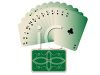 Suit of Clubs Cards Spread Out in a Fan clipart