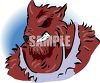 Halloween Monster Werewolf clipart
