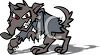 Werewolf Cartoon clipart