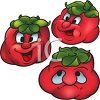 Cartoon of Healthy Food-Lycopene Rich Tomatoes clipart