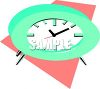Retro Clock Icon clipart