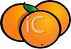 Simple Oranges Icon clipart