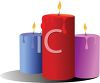 Glowing Candles for Soft Light clipart